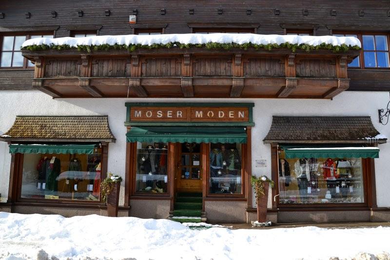 Moser Moden shop, Puchberg am Schneeberg