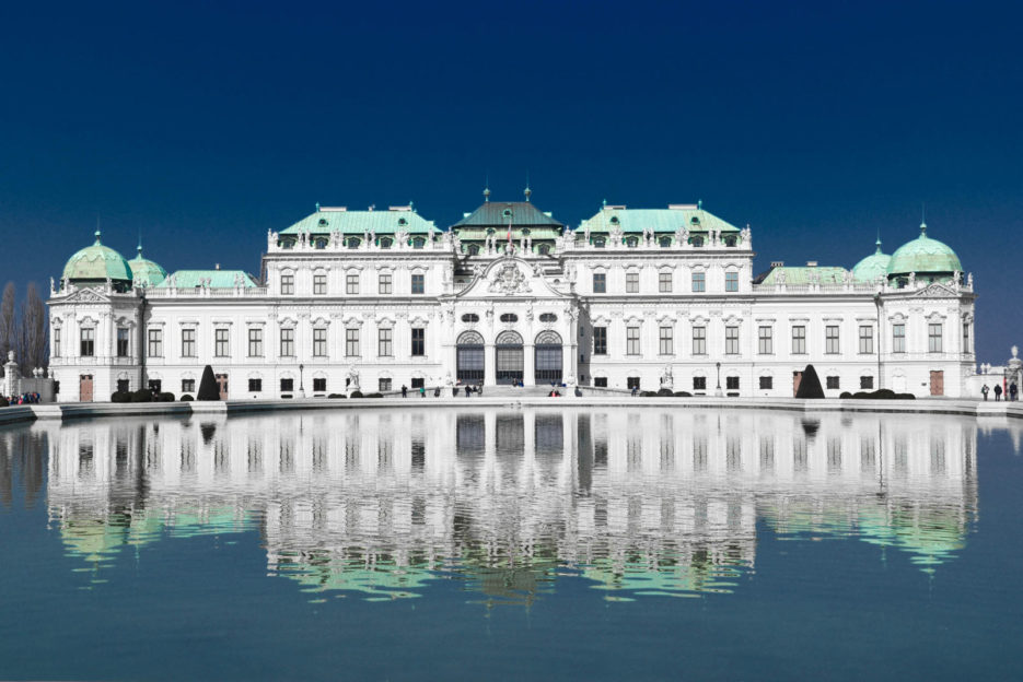 The Belvedere Palace in Vienna, Schloss Belvedere Wien