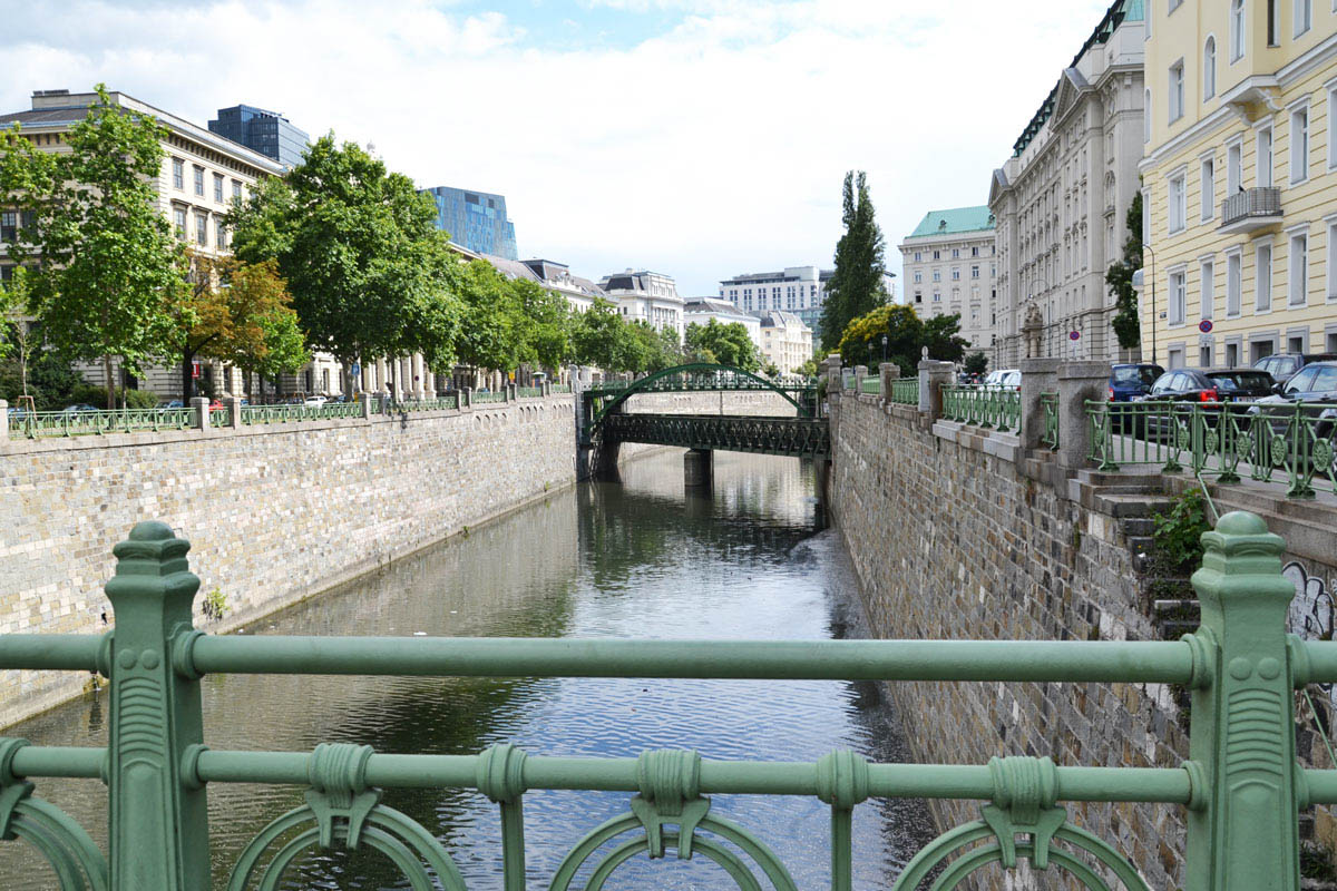 wien river seen from radetzkybrcke - Must See Wien