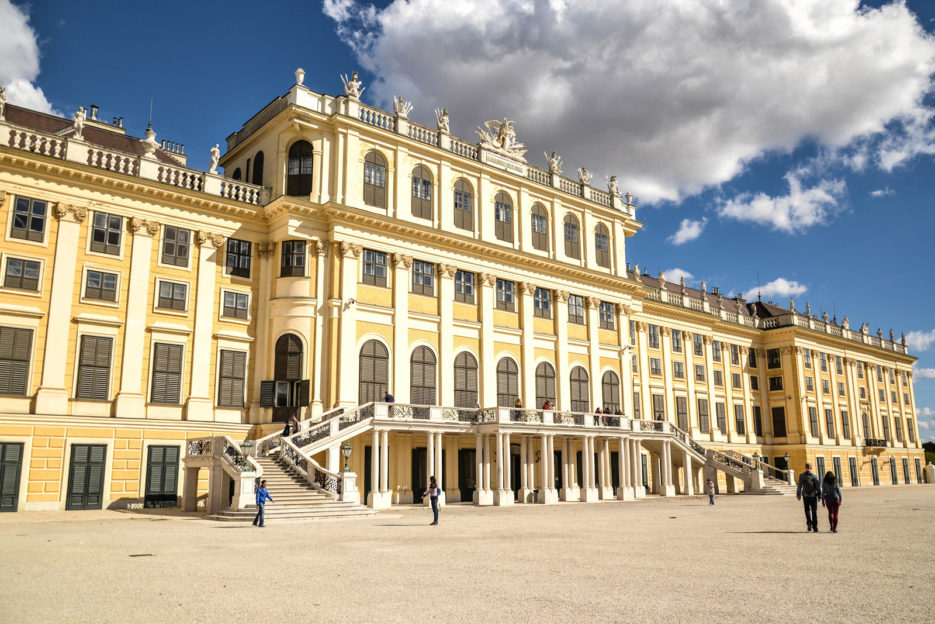The Schonbrunn Palace, Vienna