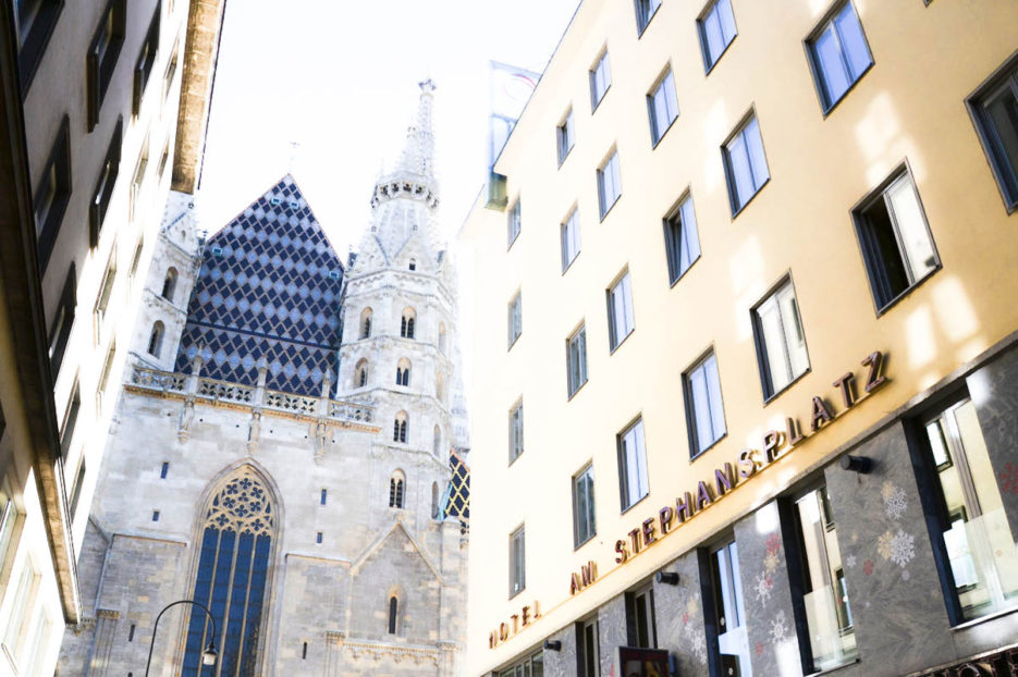 Church of St. Stephen (Stephansdom) in Vienna, Austria