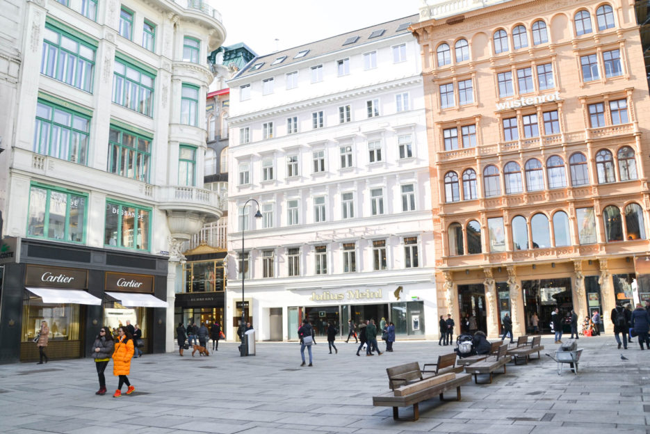 Graben street in the first district of Vienna, Innere Stadt