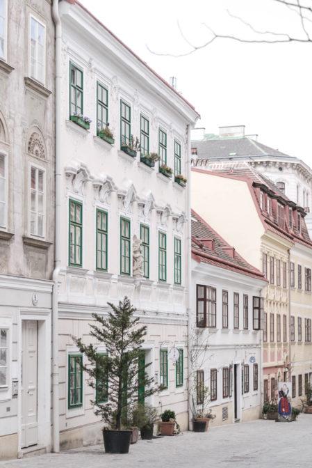 A romantic quarter Spittelberg, Vienna, Austria