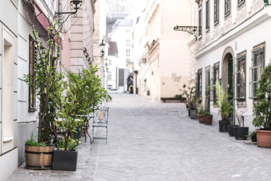 Spittelberg, a romantic quarter hidden in Vienna, Austria