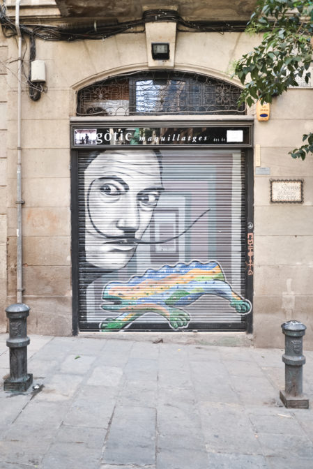 Barcelona-Barri-Gotic-Salvador-Dali-Streetart-by-epepa2