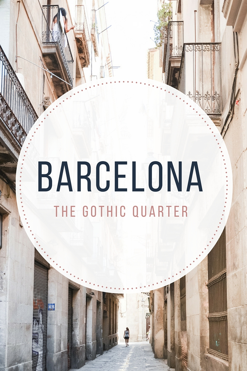The Gothic Quarter in Barcelona - from travel blog: http://Epepa.eu