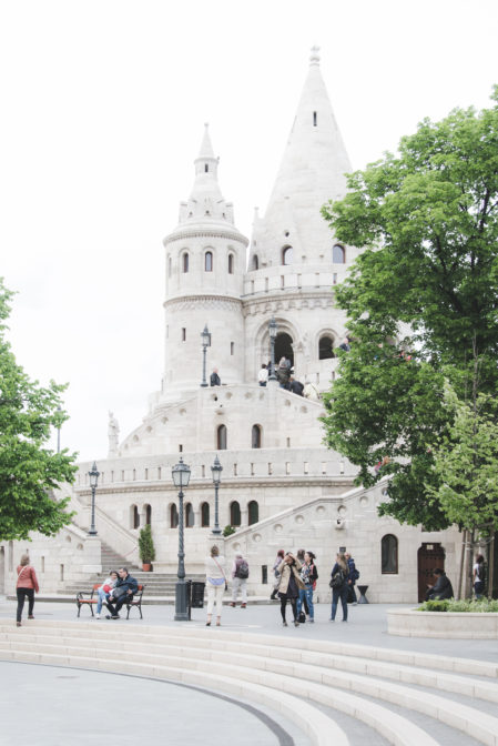 Fisherman's Bastion in Budapest - 10 things to do in Budapest from travel blog: https://epepa.eu/