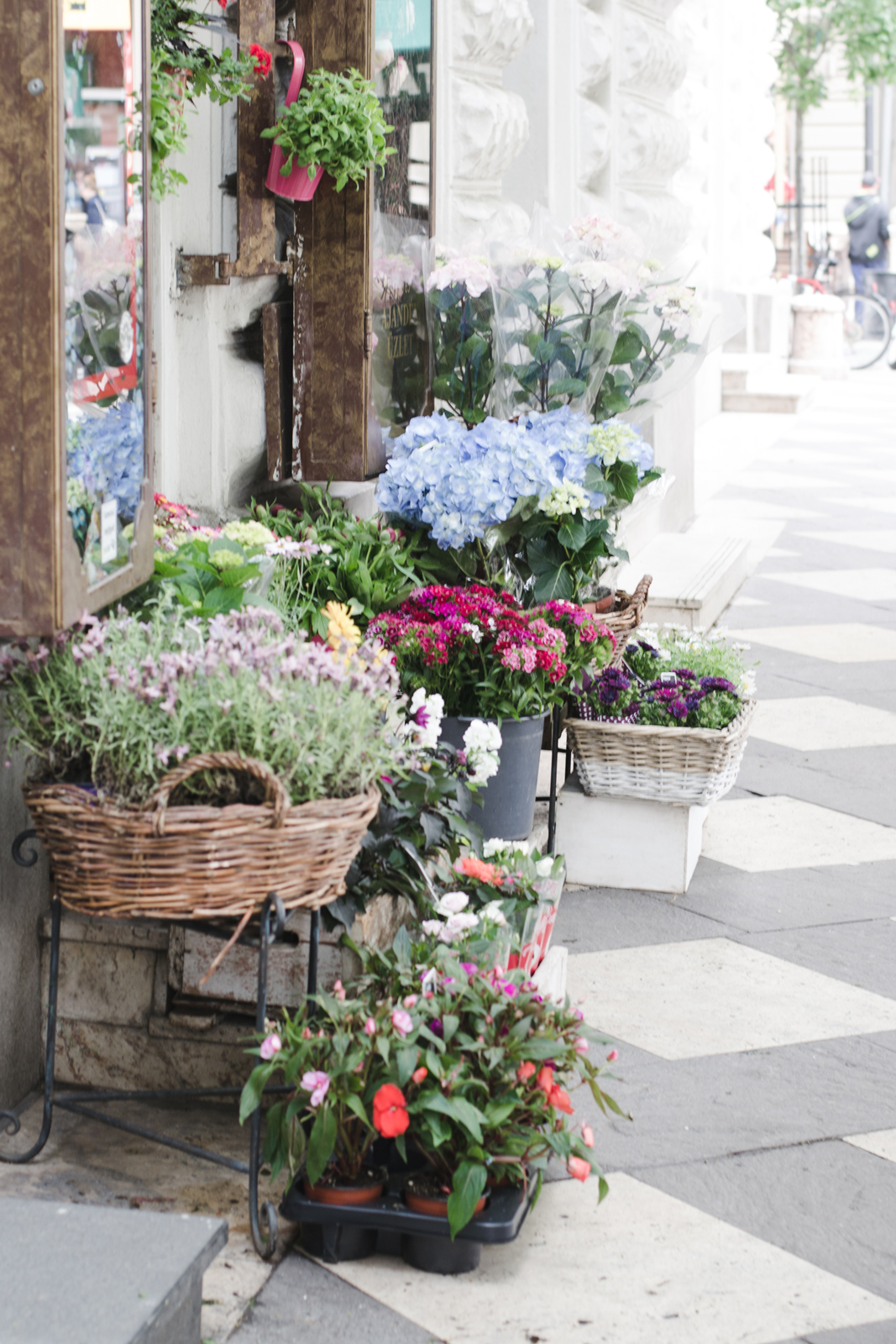 Budapest-Flowers-on-the-Streets