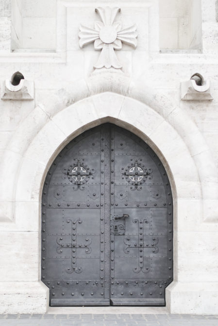 The door to Matthias Church, one of the top things to see in Budapest - Epepa Travel Blog
