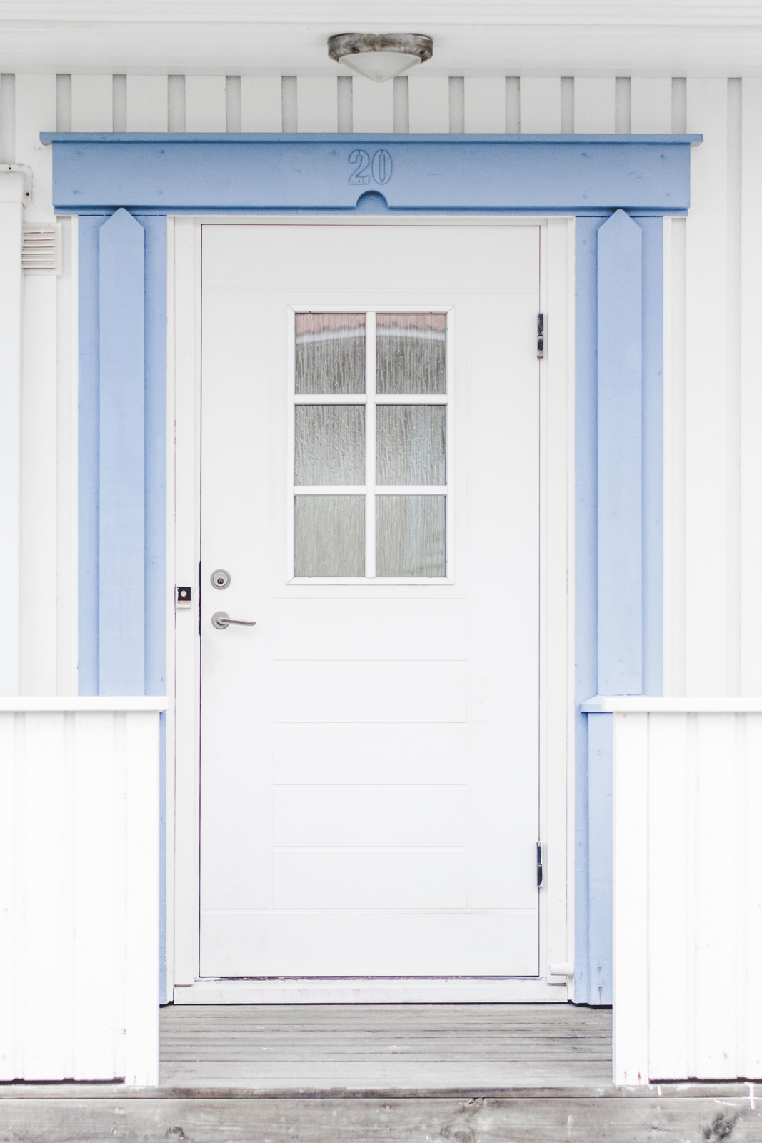 Typical-Front-Door-in-Swedish-Styrso-Island