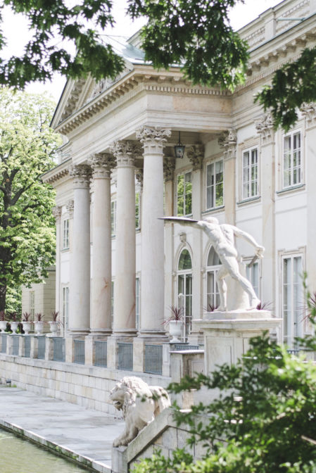 The Palace on the Water, the best thing to see in Łazieki Park, Warsaw - Epepa Travel Blog