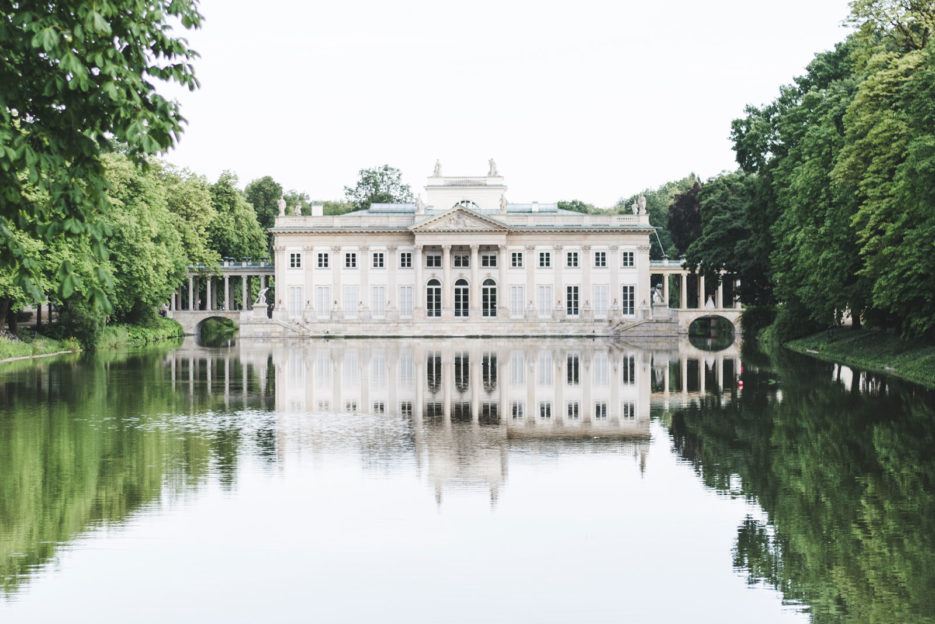 The Palace on the Water in Łazienki Park, one of the top things to see in Warsaw, Poland - Epepa Travel Blog