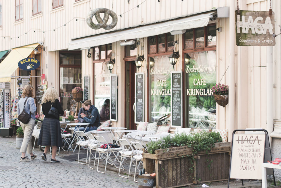 One of the best things to do in Gothenburg is to have a cup of coffee at Haga Nygata, the best district in the city - Epepa Travel Blog
