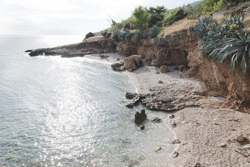 Hidden beach on Hvar Island, Croatia - from travel blog http://Epepa.eu