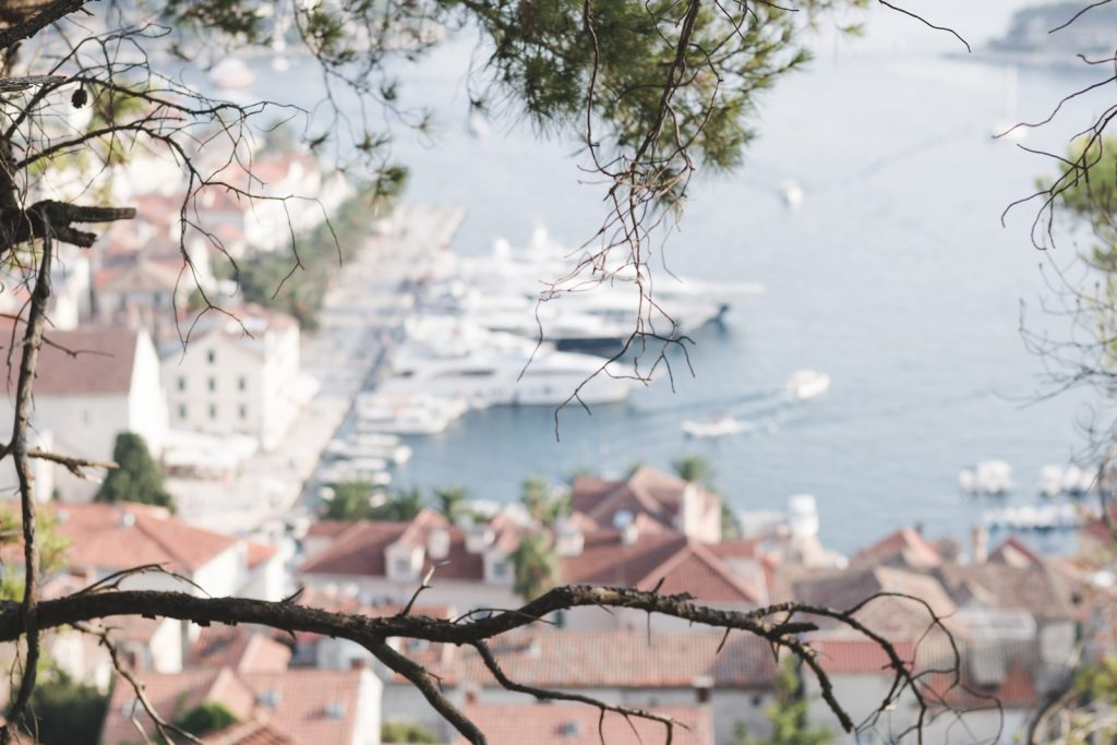 The town of Hvar, Croatia - from travel blog: http://Epepa.eu