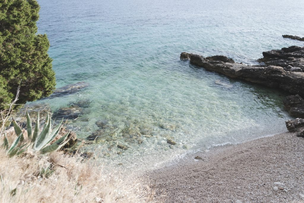 The hidden secret beach on Hvar Island, Croatia - from travel blog http://Epepa.eu
