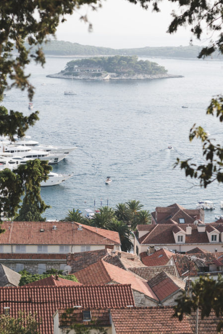 The Pakelni Islands seen from Hvar Town - from travel blog: https://epepa.eu/