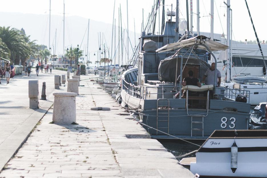 Marina in Stari Grad, Croatia - from travel blog: https://epepa.eu/