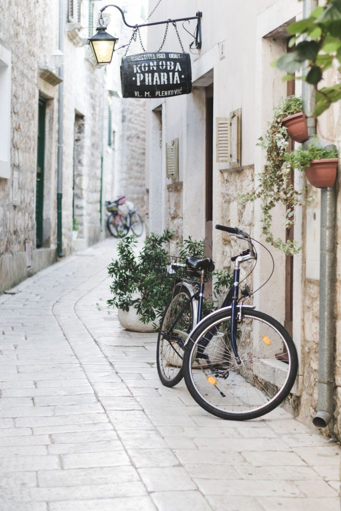Cobblestone streets in Stari Grad, Hvar, Croatia - from travel blog: http://Epepa.eu