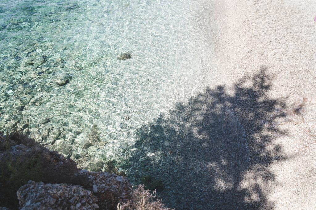 Beautiful beach in Zavala, Hvar - from travel blog http://Epepa.eu