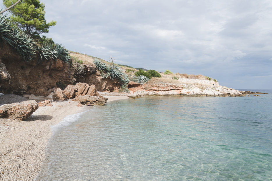 The secret beach in Gromijn Dolac, Hvar - TOP 10 things to do in Hvar Island, Croatia - from travel blog: https://epepa.eu/