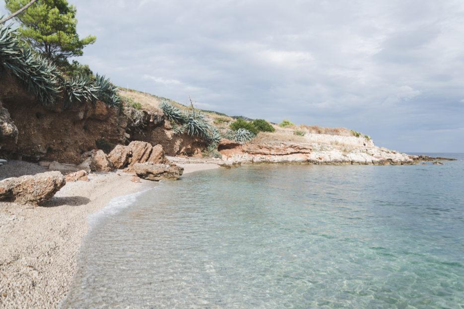 The secret beach in Gromijn Dolac, Hvar - TOP 10 things to do in Hvar Island, Croatia - from travel blog: https://epepa.eu/