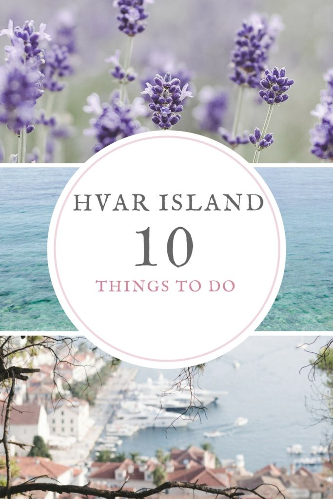 Top 10 things to do in Hvar Island - from travel blog http://Epepa.eu