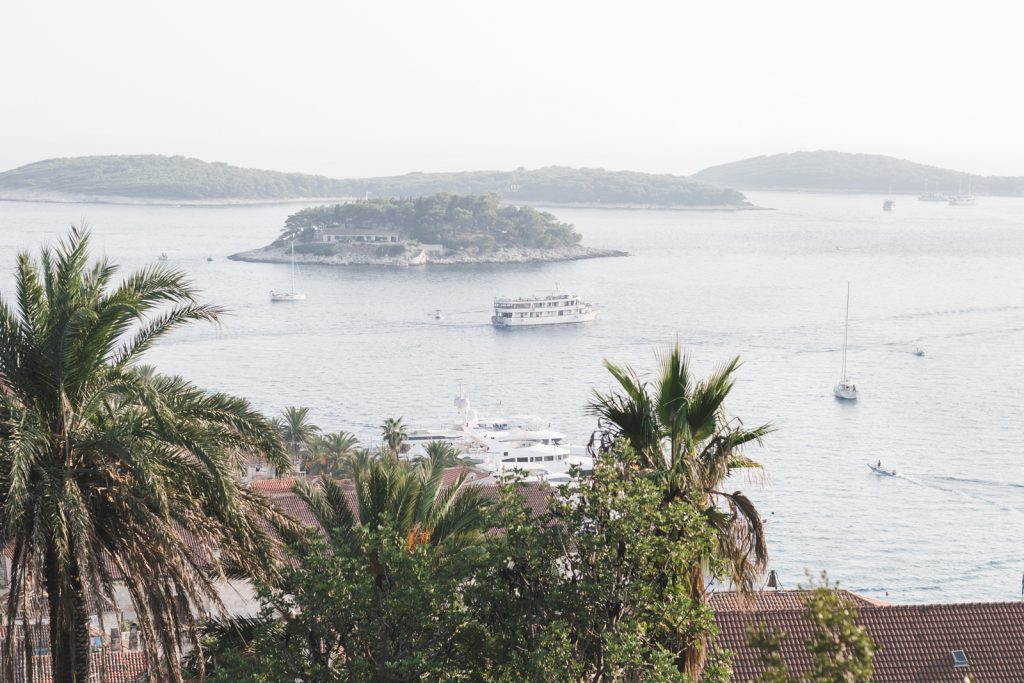 The Pakelni Islands seen from Hvar Town - from travel blog: http://Epepa.eu
