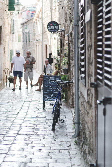 The streets of Stari Grad, Croatia - from travel blog: https://epepa.eu/
