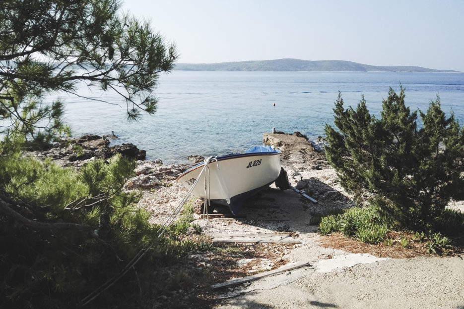 The island of Scedro seen from Zavala, Hvar - 10 things to do in Hvar - from travel blog: https://epepa.eu/