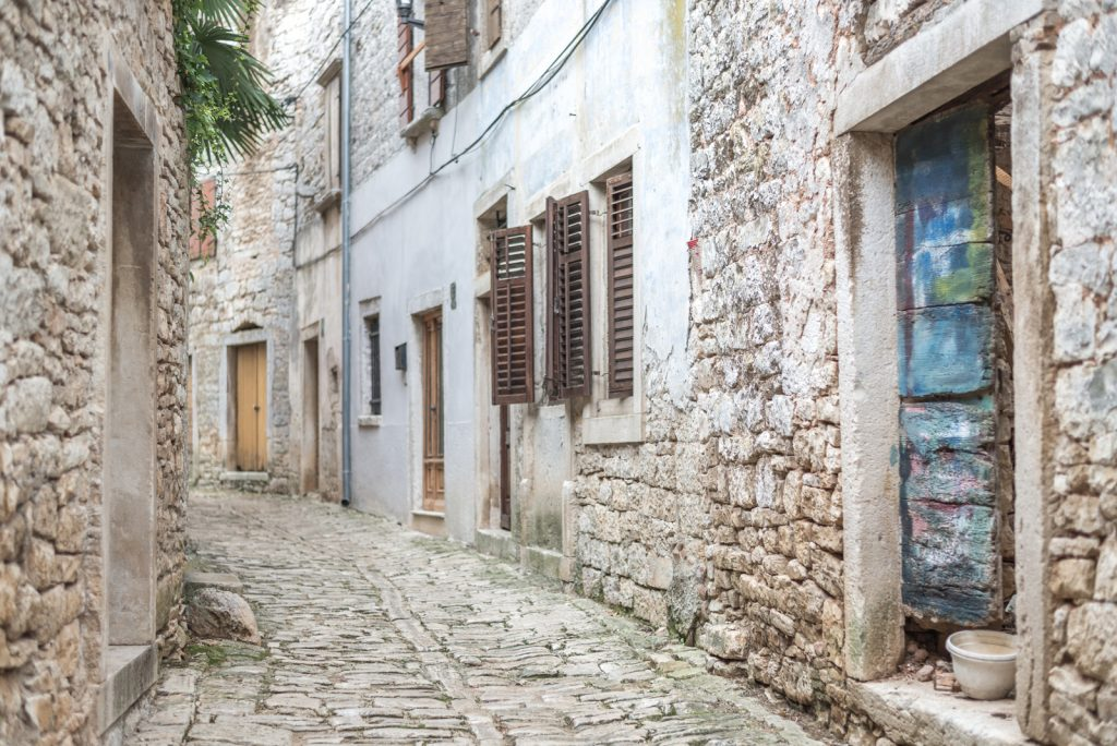 Bale, Istria - a town made of stone