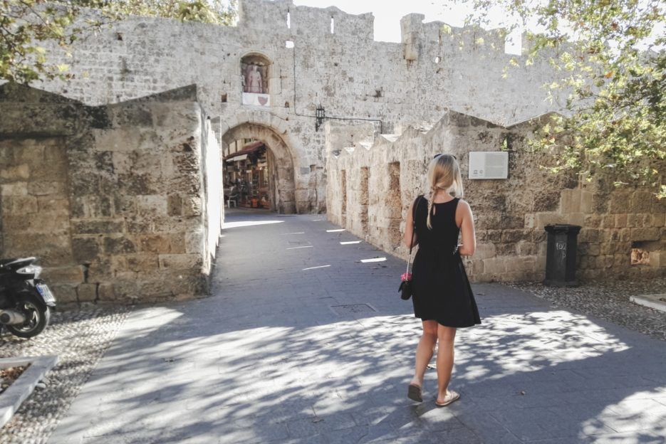 D'Amboise Gate, Rhodes Medieval Town, Greece - from travel blog https://epepa.eu/