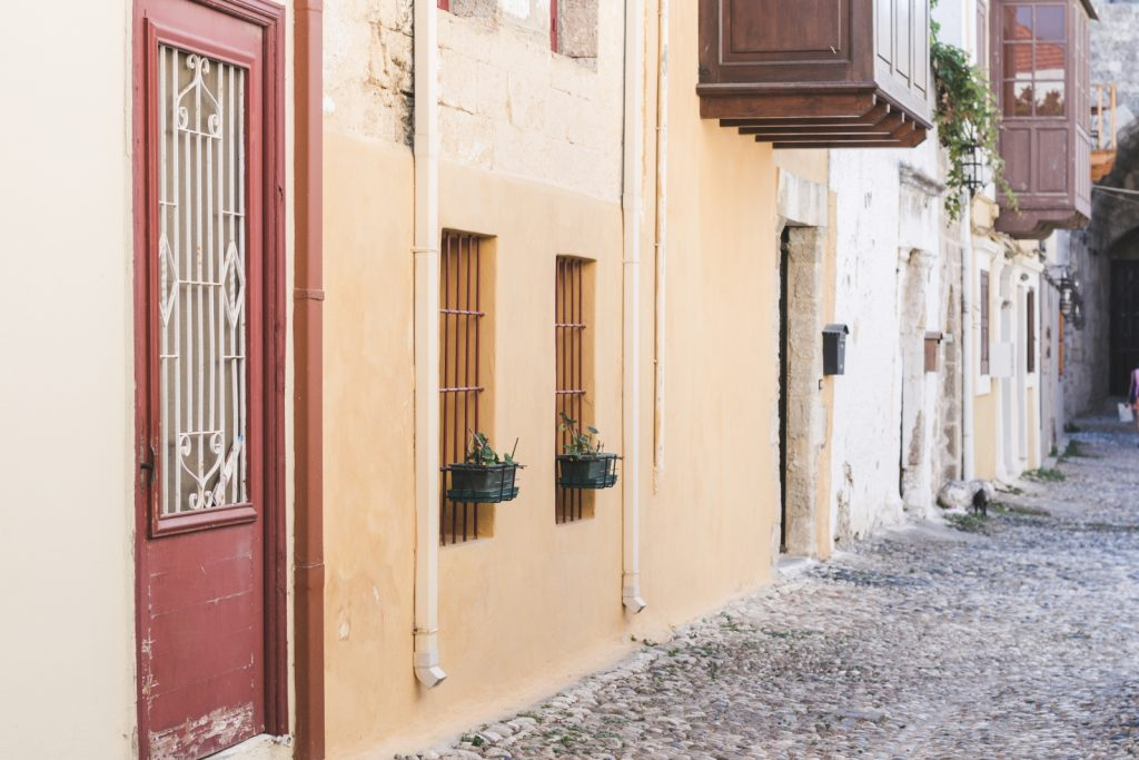 The architecture of Rhodos Old Town, Greece - from travel blog http://Epepa.eu