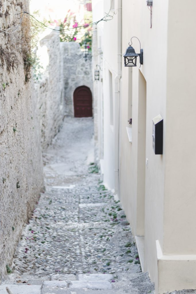 The street in the Old Town, Rhodes, Greece - from travel blog http://Epepa.eu