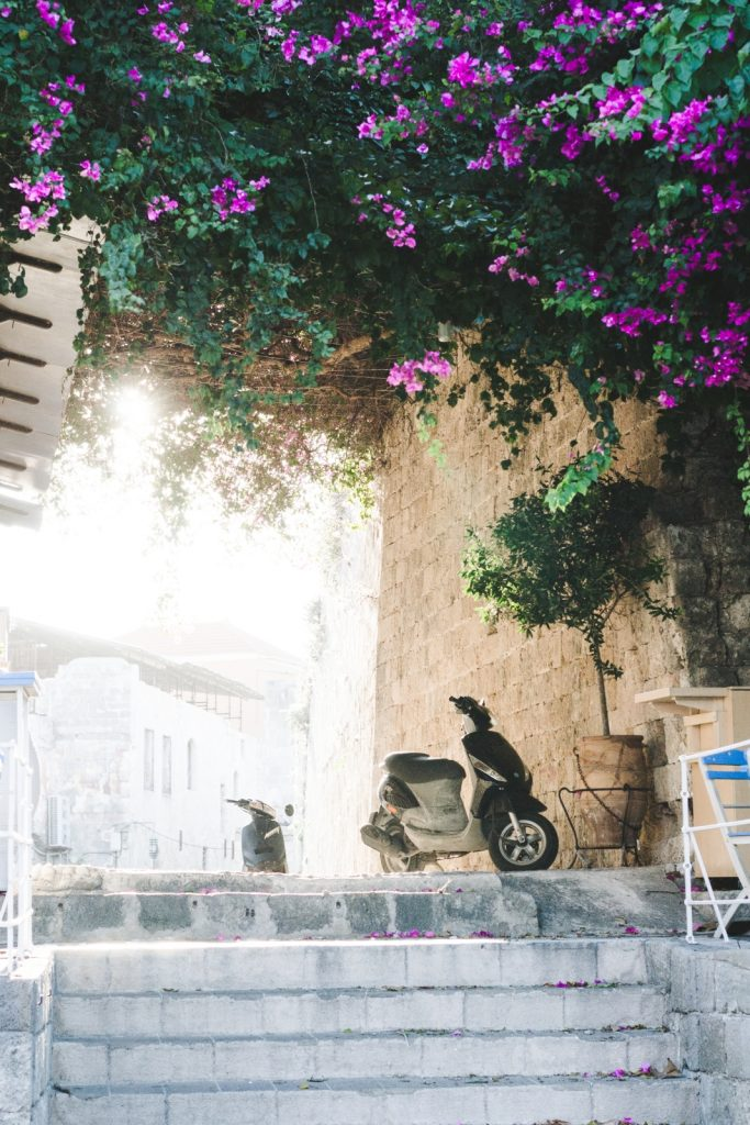 The streets of the medieval city, Rhodes, Greece - from travel blog http://Epepa.eu