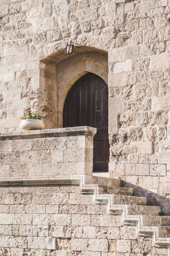 Door in the Old Town, Rhodes, Greece - from travel blog http://Epepa.eu