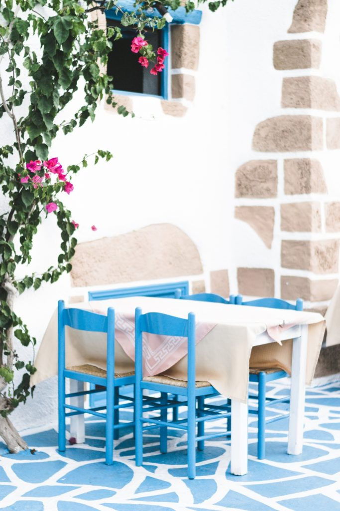 Greek restaurant in Rhodes Town - from travel blog: http://Epepa.eu