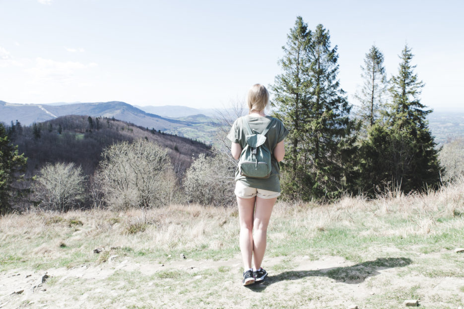 Travel blogger Epepa in the Silesian Beskids, Poland - from travel blog: https://epepa.eu/