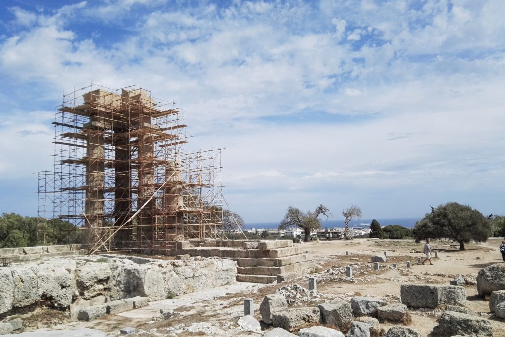 The Acropolis of Rhodes, Rhodes Town, Greece - from travel blog: http://Epepa.eu
