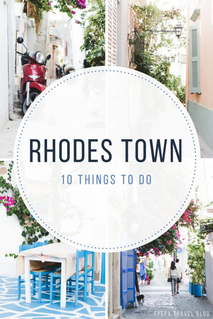 The best 10 things to do in Rhodes Town, Greece and travel tips - from travel blog https://epepa.eu