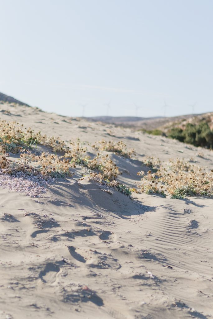 Sand dunes on Prasonisi Beach - from travel blog: http://Epepa.eu