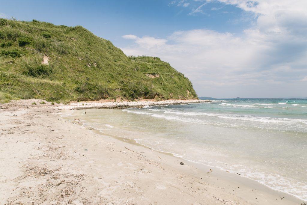 A sandy beach Bok on the island of Susak, Croatia - from travel blog: http://Epepa.eu
