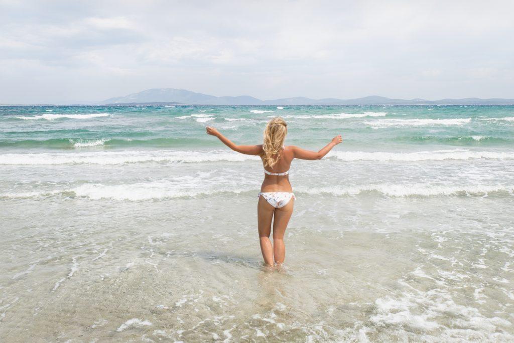 A shallow sea on the Croatian island of Susak, Kvarner Bay - from travel blog: http://Epepa.eu