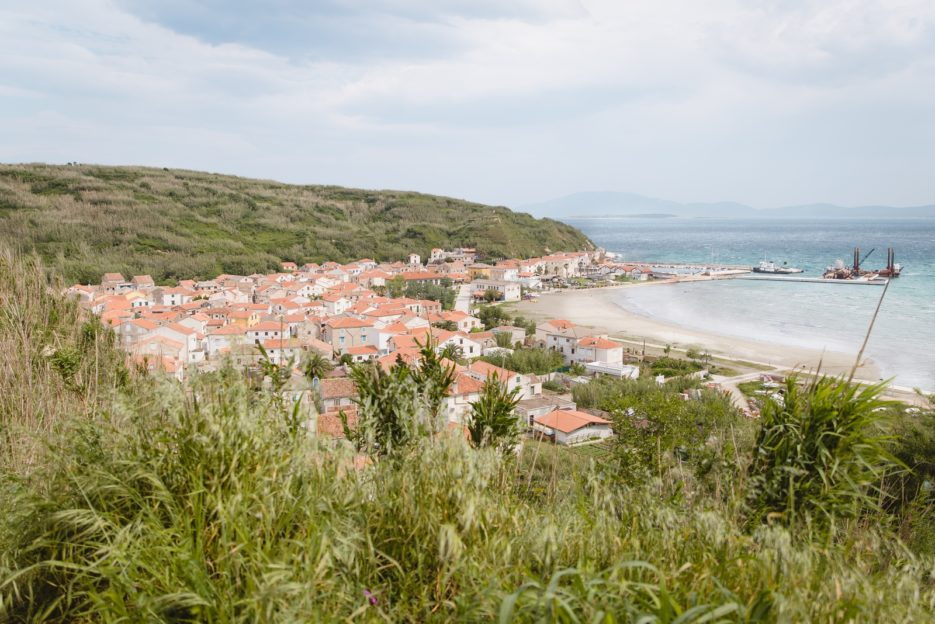 A view on Donje Selo and Spiaza Beach, Susak Island, Croatia - from travel blog: https://epepa.eu