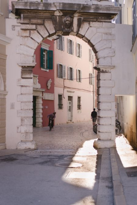Balbijev Luk, a historic city gate in Rovinj, Croatia - from travel blog https://epepa.eu