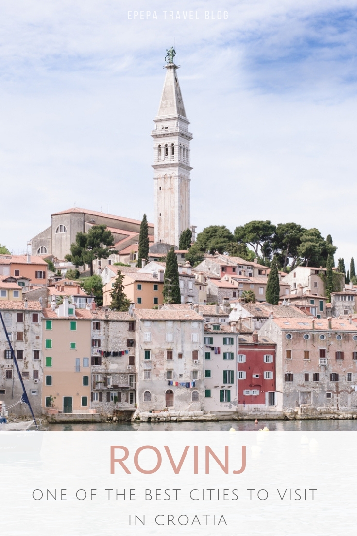Rovinj, one of the best cities to visit in Croatia - from travel blog: http://Epepa.eu
