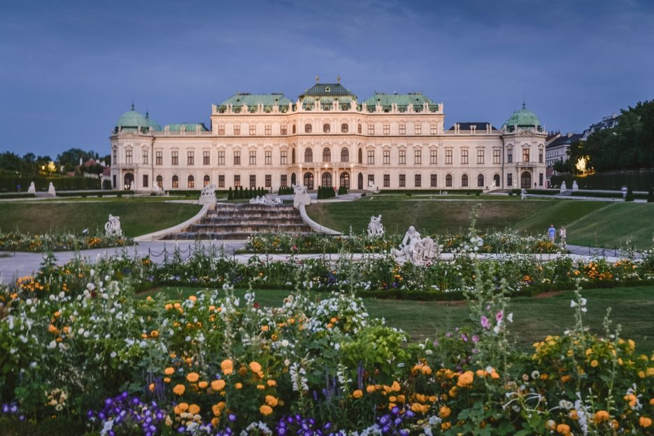 Belvedere, Vienna - 10 best things to do in Vienna, Austria - from travel blog https://epepa.eu