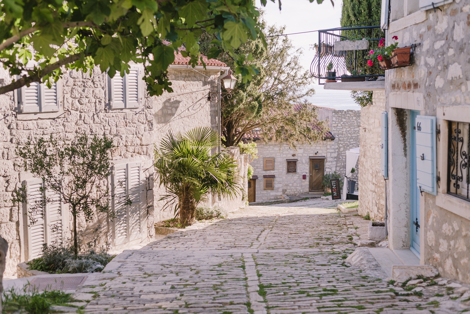 A street near the church of St. Euphemia, Rovinj, Croatia - from travel blog http://Epepa.eu