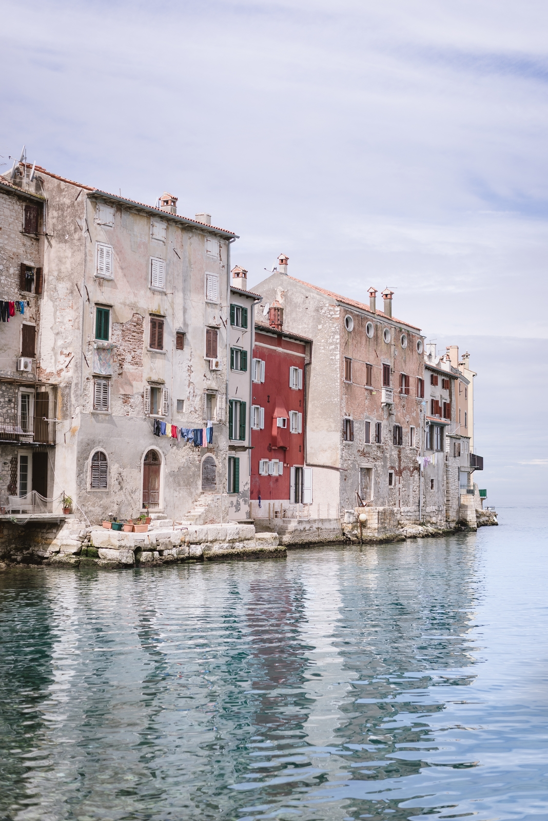 Gorgeous architecture of the old town of Rovinj. It is one of the most beautiful places on the Istrian peninsula and all over Croatia - from travel blog http://Epepa.eu