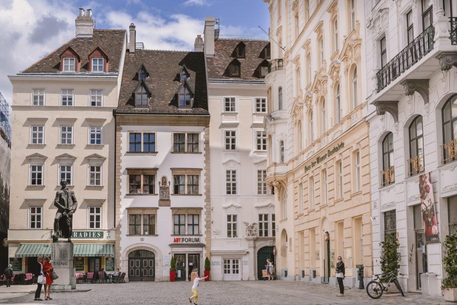 Judenplatz, Vienna's first district Innere Stadt - 10 best things to do in Vienna, Austria - from travel blog https://epepa.eu